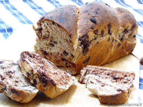 Pane integrale al cioccolato