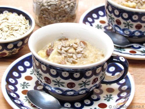 Porridge d'avena: una colazione diversa