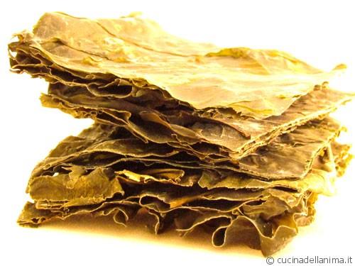 L'alga kombu