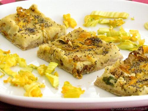 Torta vegan: zucchine e ceci