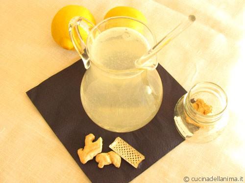 bibita fresca limone e zenzero