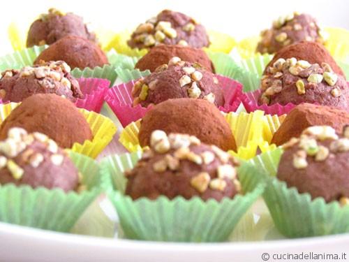 Tartufi al cioccolato e non solo…