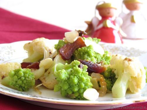 insalata di cavoli e frutta secca