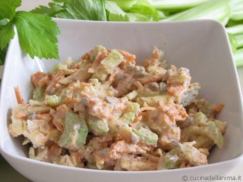 La crema Budwig salata