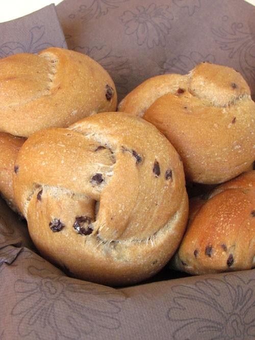 Panini uvetta e cioccolato #senzazucchero