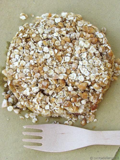 Gocce d'oro alla granola