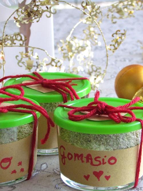 Un dono per Natale: gomasio home-made