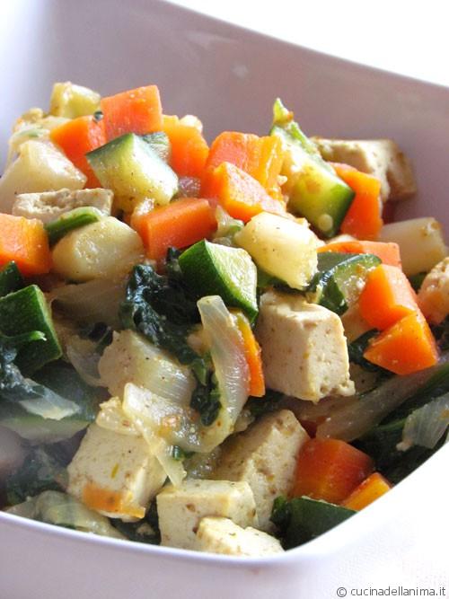Ratatouille di verdure primaverili