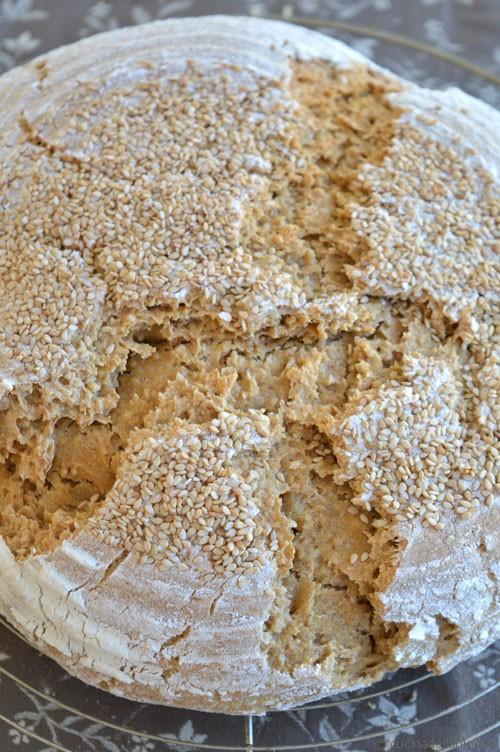 Pane al farro monococco e sesamo