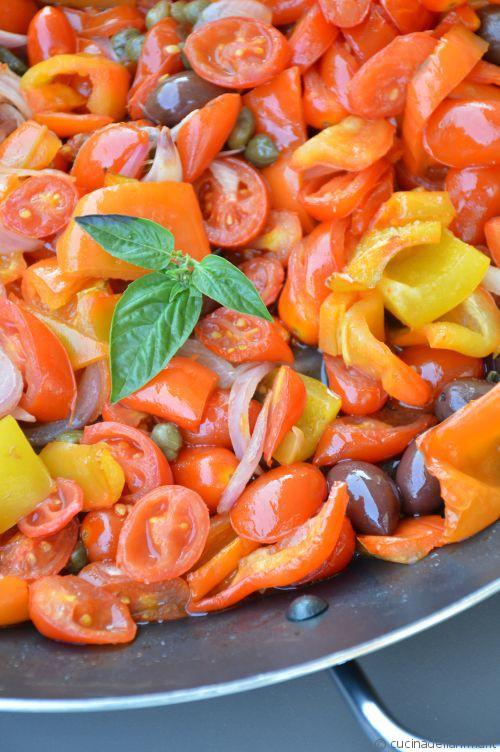 Infornata di verdure estive