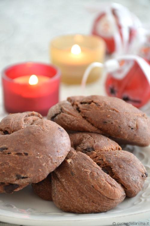 Nodini al cacao e cioccolato