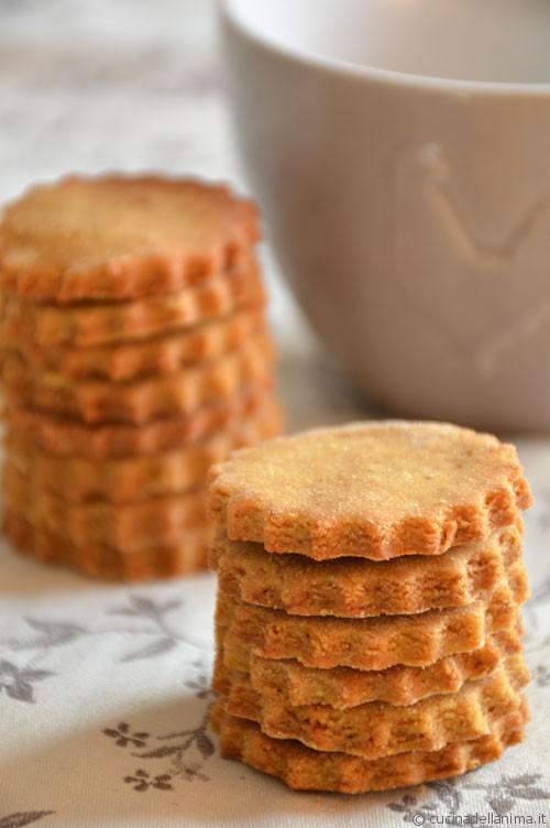 Biscotti gluten free al limone
